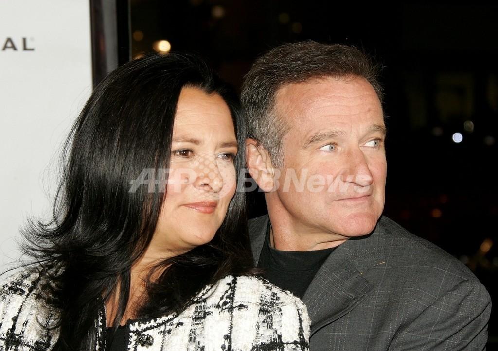 俳優R・ウィリアムズの妻、離婚を申請