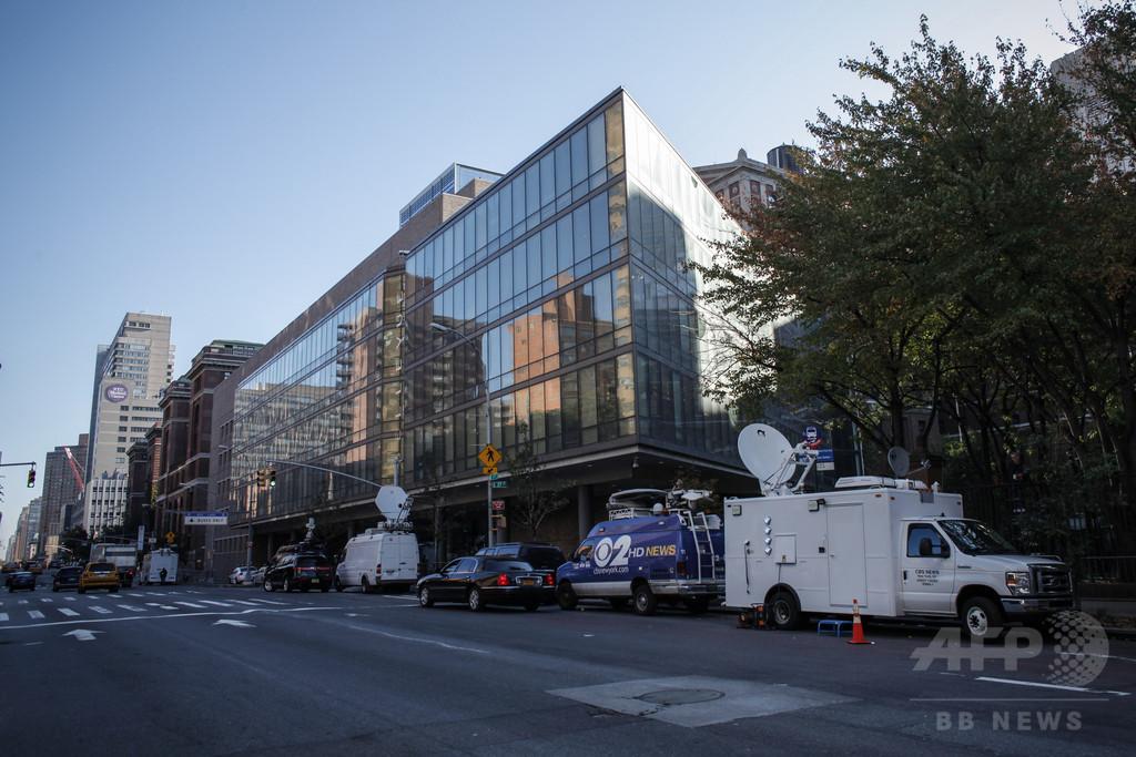 エボラ感染の米医師が回復、11日に退院へ NYで初の診断患者