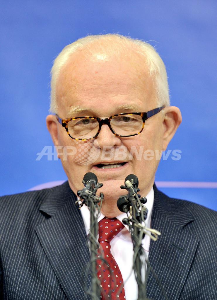 ボズワース米特別代表、6か国協議再開で北朝鮮と「共通理解」