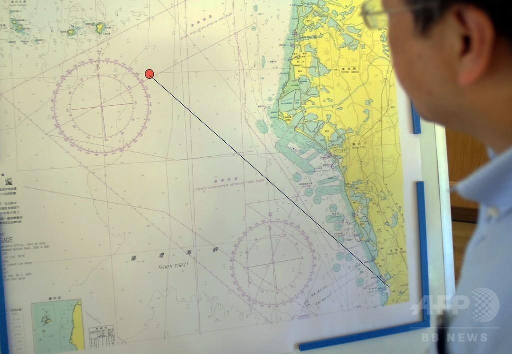 台湾海軍、対艦ミサイル1発を中国に向け誤発射