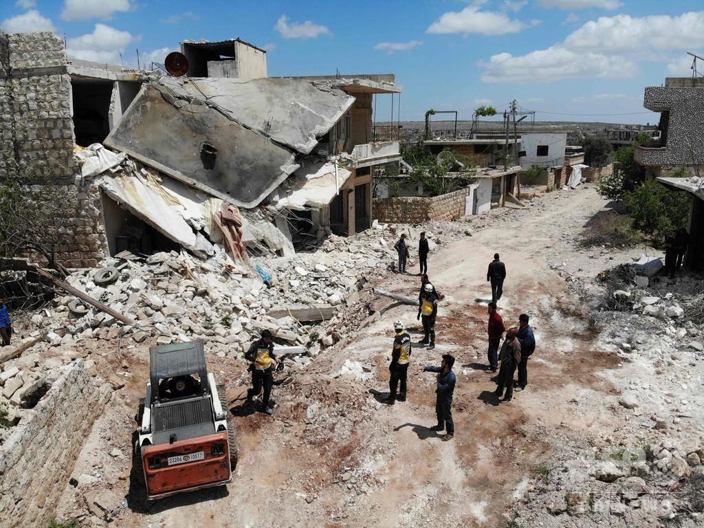 シリア政府とロシア、15病院に「計画的攻撃」 人権団体が報告