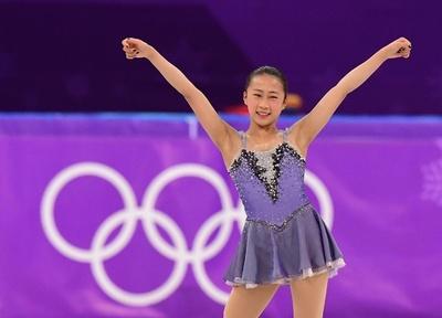 フィギュア女子で22位の李香凝、平昌五輪