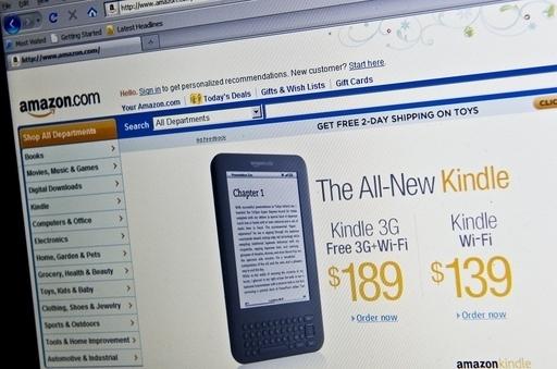 キンドル低価格版が米国発売、広告機能付きで114ドル