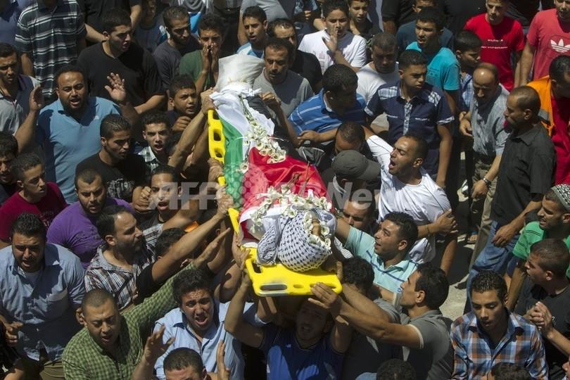 イスラエル部隊がパレスチナ人3人を射殺、当日の和平交渉が中止に