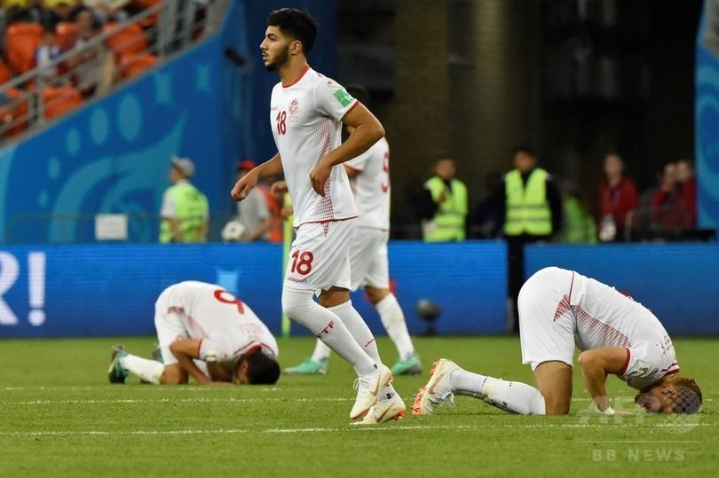 チュニジアがW杯で40年ぶりの勝利、初出場パナマは3連敗