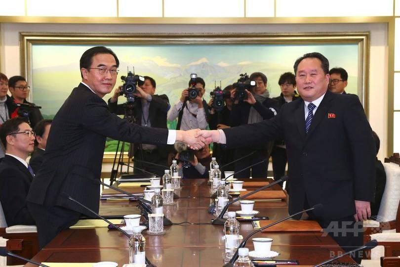 北朝鮮、平昌五輪への参加を表明 選手や応援団を派遣へ