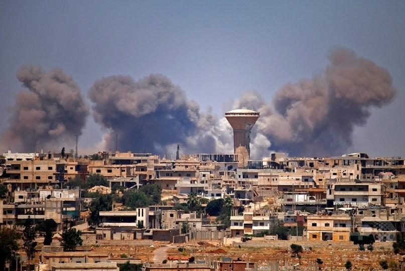 シリア反体制派、南部ダルアー県引き渡しに同意