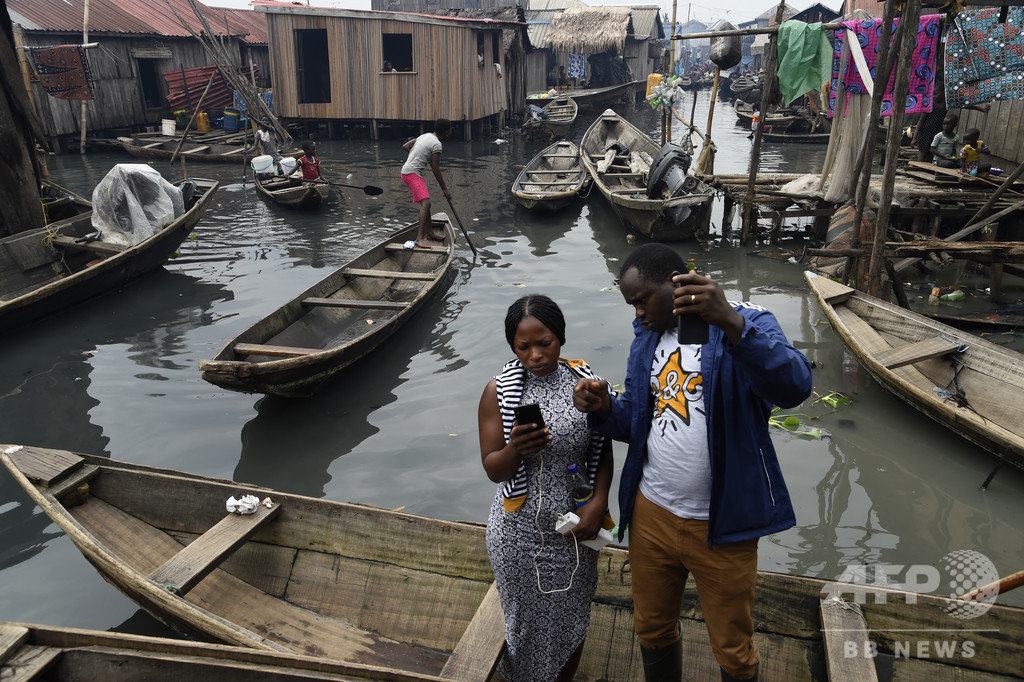 水上のスラム街に住所を! ドローンで地図を共同作成 ナイジェリア