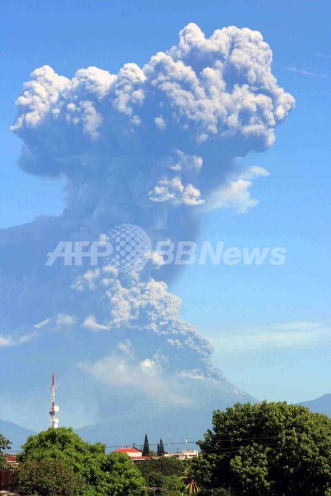 中米ニカラグアのサンクリストバル火山が噴火、3000人避難