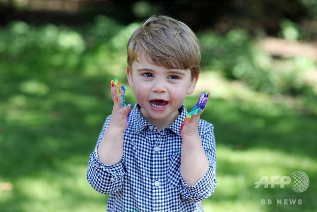 英王子夫妻の次男ルイ王子が2歳に キャサリン妃撮影の写真公開