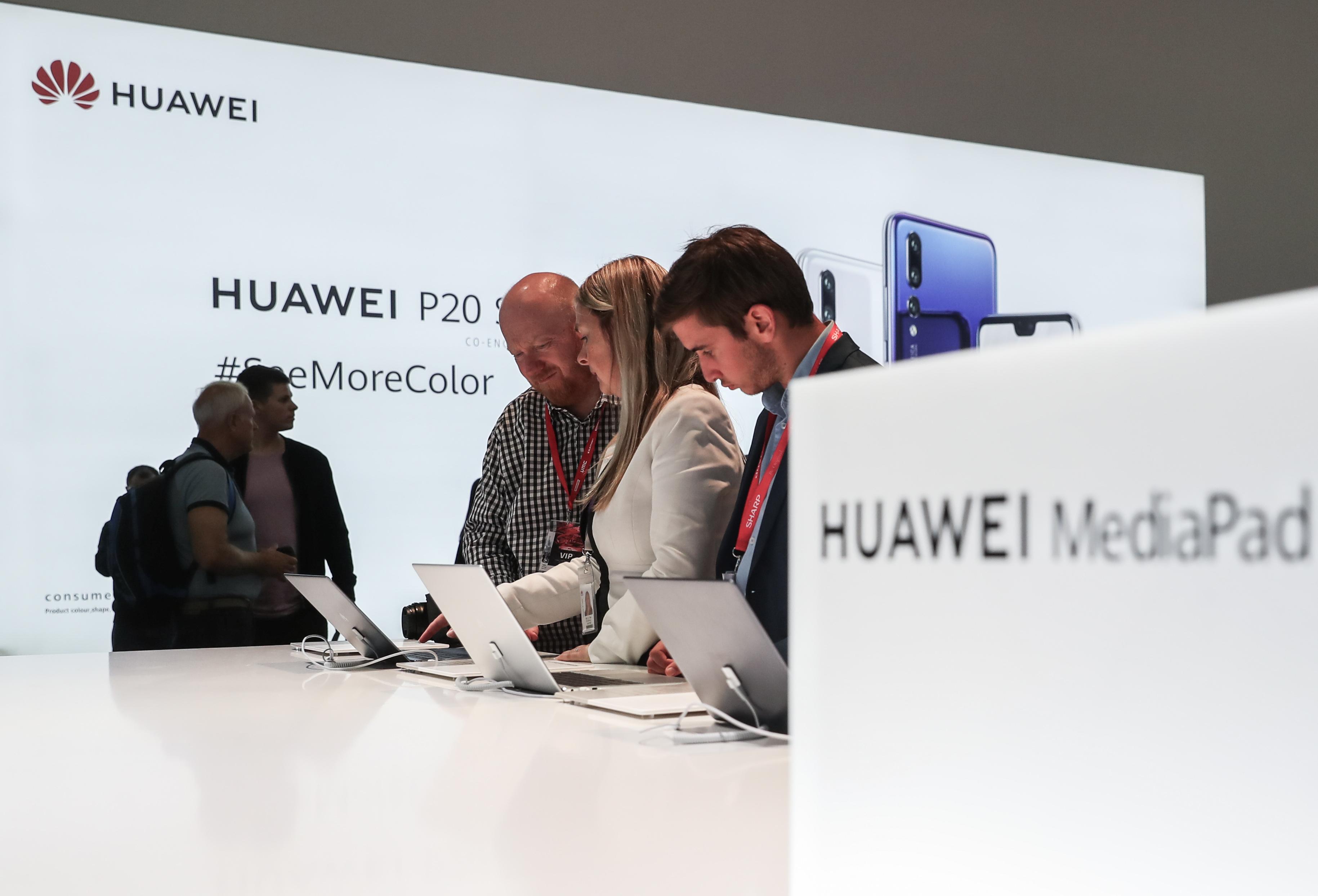 ファーウェイ、中国タブレットPC市場で初の首位