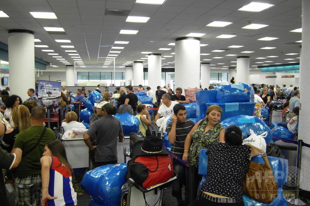 国際ニュース:AFPBB News米税関当局のシステムで障害発生、多数の空港利用客が入国できず
