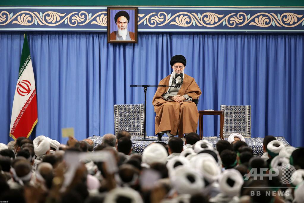 イラン最高指導者、「非常に危険な」陰謀阻止と発表