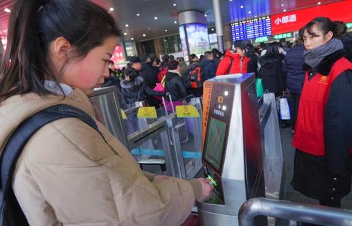 長江デルタの40都市65駅で「顔認証入場」を導入