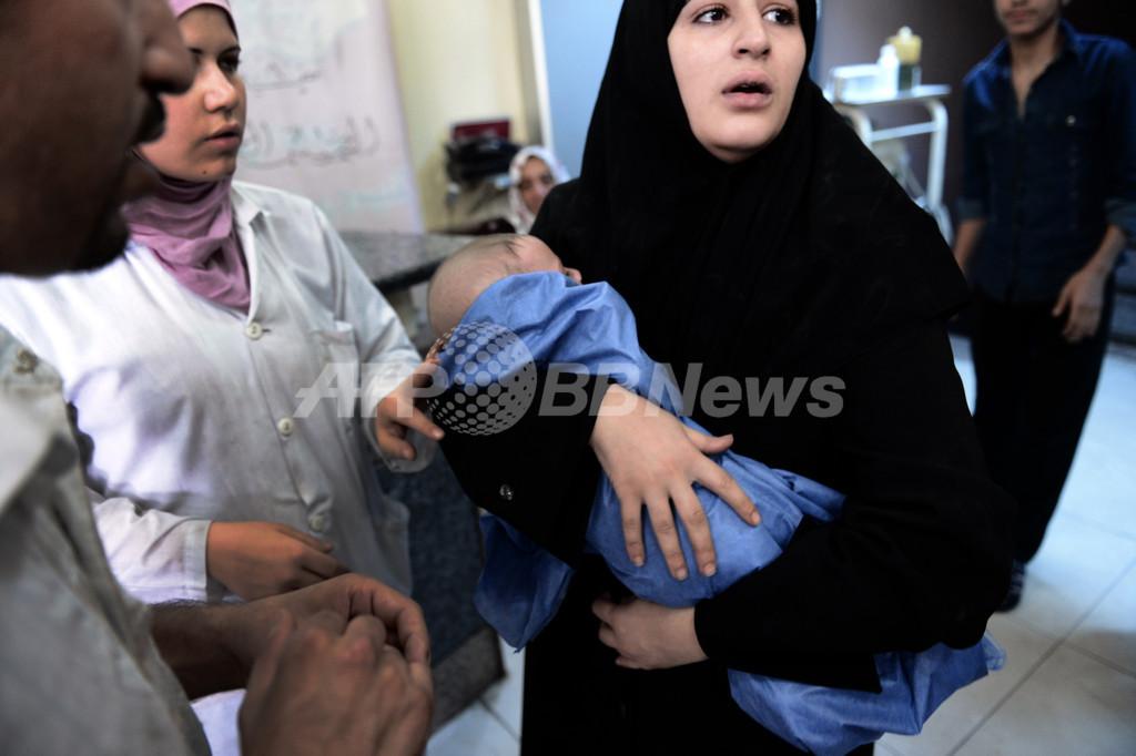 シリアで妊婦を標的とする狙撃横行か、英医師が証言