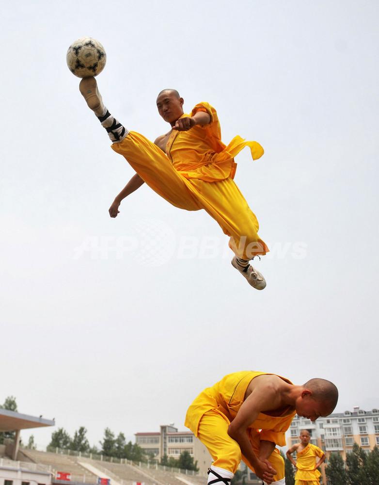 サッカー 少林寺