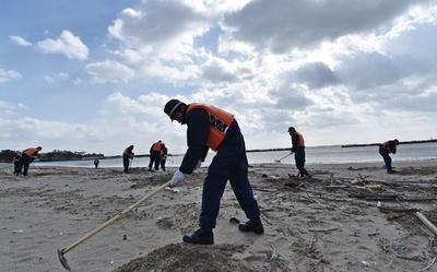 宮城・七ヶ浜で不明者捜索、東日本大震災から4年