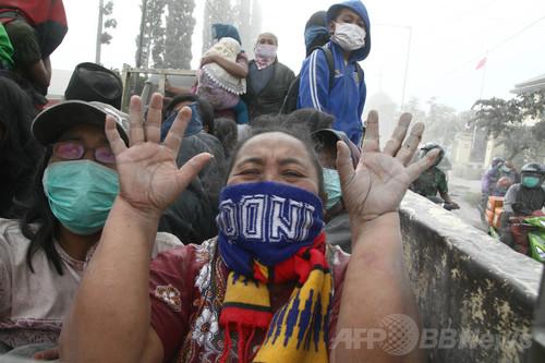 インドネシア・ジャワ島の火山噴火、2人死亡
