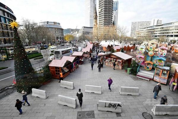 独ベルリンでクリスマス市始まる、襲撃事件受け警備強化