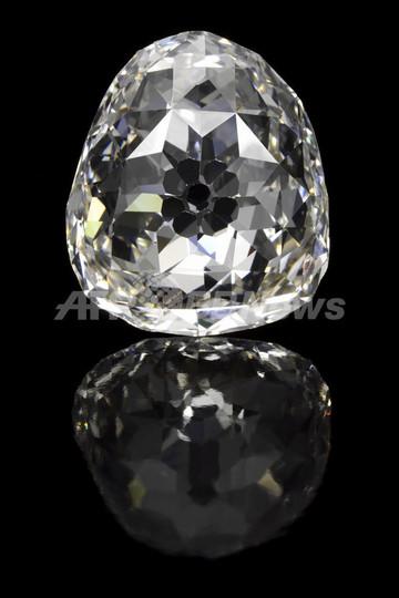 34.98カラットのダイヤモンド、5月に競売へ 落札価格は数億円か