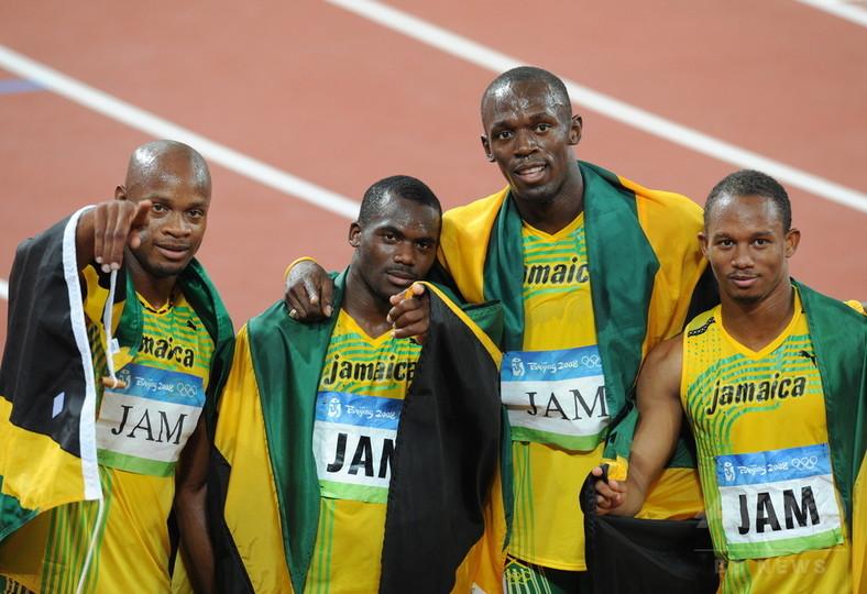 北京リレー失格のジャマイカ、五輪委員会と選手が異議申し立てへ