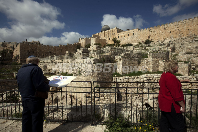 古代エルサレムの壁発見、ソロモン王が作った可能性
