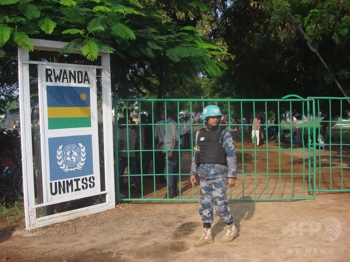 戦闘激化の南スーダンで性的暴行120件、PKO要員が見ぬふりか