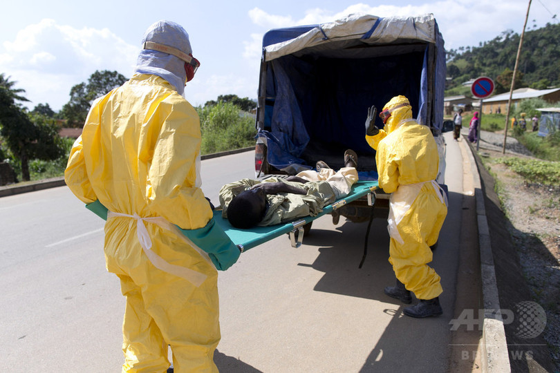 西アフリカのエボラ流行時に赤十字職員が不正、損失7億円近く