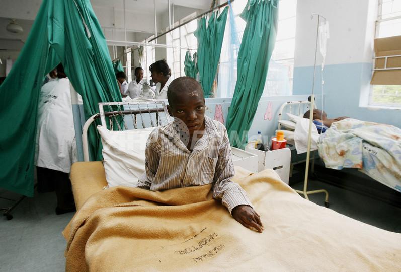 ジンバブエのコレラ大流行、感染者数や死亡率が減少傾向に WHO
