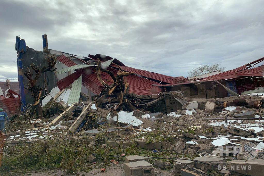 サイクロン襲来のモザンビーク、死者1000人超か