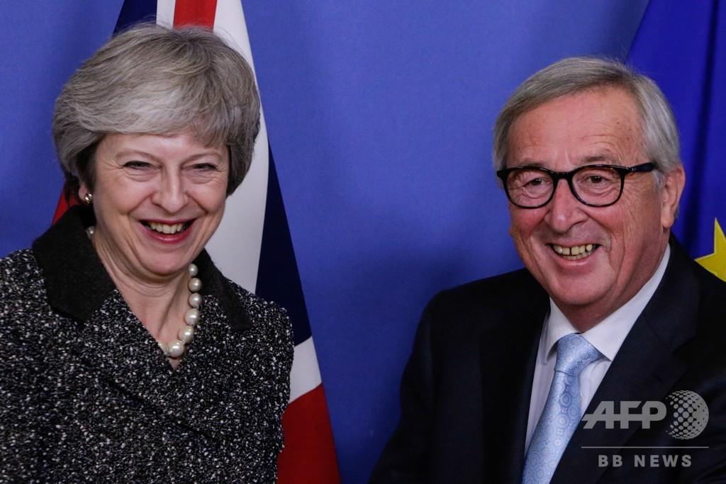 英首相が欧州3都市を訪問 EU側は離脱協定案の再協議拒絶