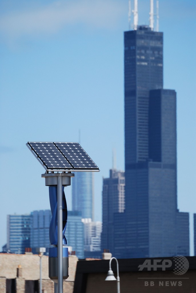 米国の電力需要の80%、風力と太陽光発電で賄える 研究