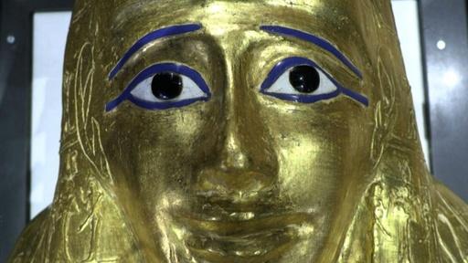 動画:盗まれた黄金のひつぎ、米博物館から戻る 国立博物館で公開 エジプト
