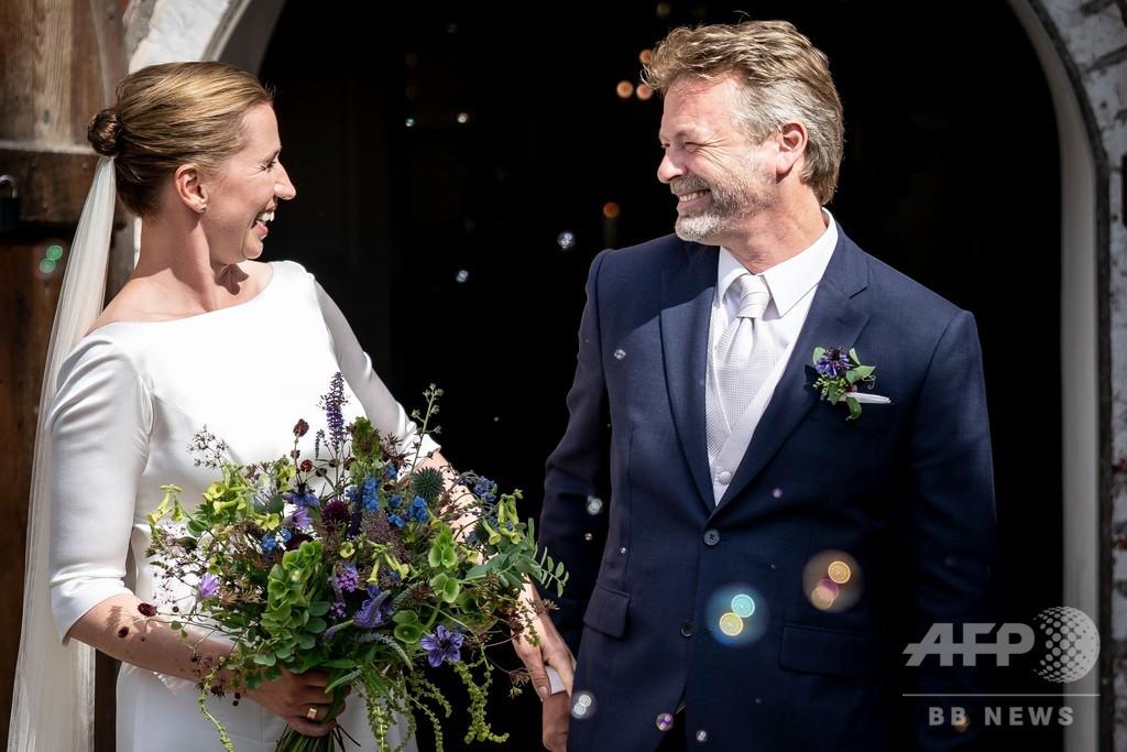 デンマーク首相、ようやく結婚式