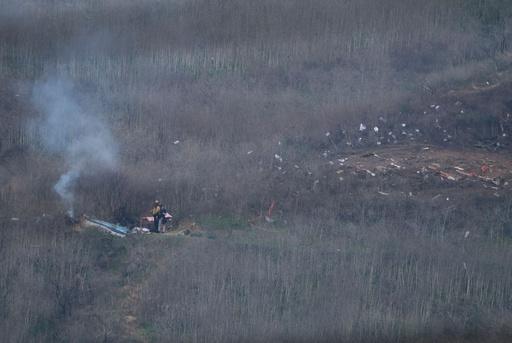 コービー氏搭乗ヘリの墜落事故で9人全員死亡、調査開始へ