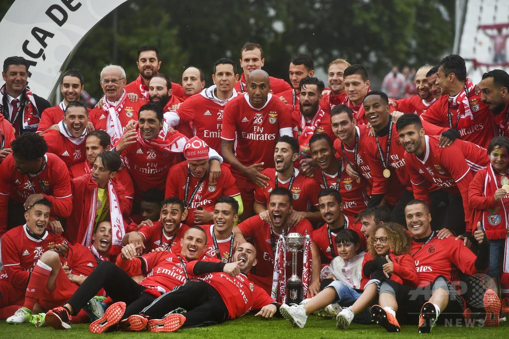 ベンフィカが国内2冠達成、通算26度目のポルトガル杯制覇