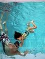 ドバイ・フェスティバル・シティーの「空中プール」