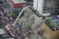 フィリピン首都で大型ホテル火災、5人死亡20人負傷