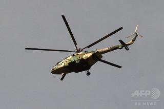 中国軍の戦闘ヘリが実弾演習、台湾海峡か