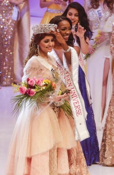 ミス・ティーン・ユニバース2017、インド代表が優勝