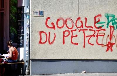 パンクな街にグーグルは要らない、再開発に反対運動 独ベルリン