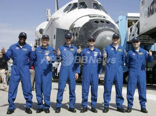 国際ニュース:AFPBB Newsスペースシャトル「アトランティス」 地球に無事帰還