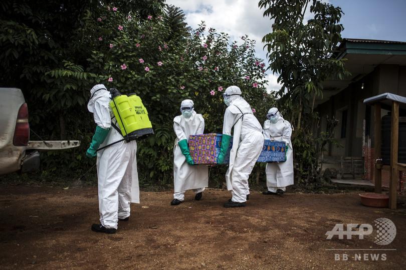 エボラ出血熱の死者118人に コンゴ