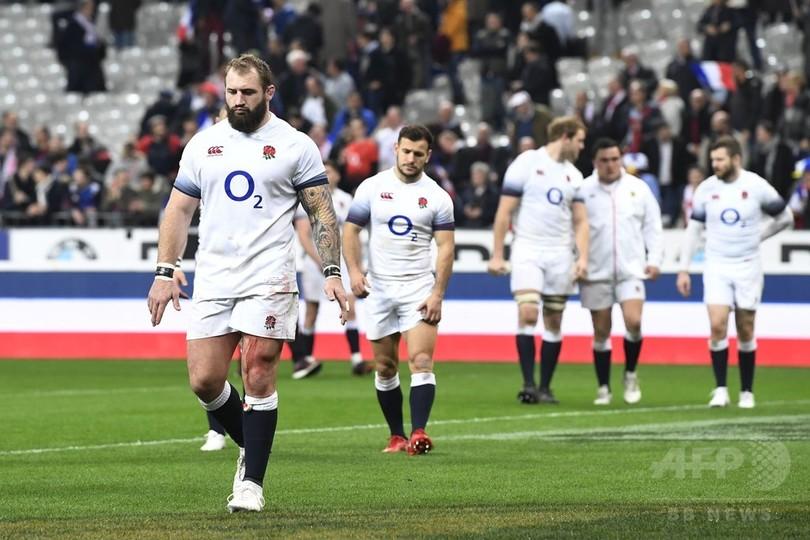 イングランドが仏に敗戦、アイルランドがシックスネーションズ制覇