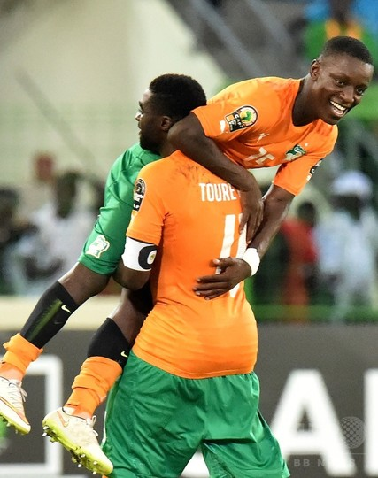 グレイデルの決勝点でコートジボワールが8強、アフリカネイションズカップ