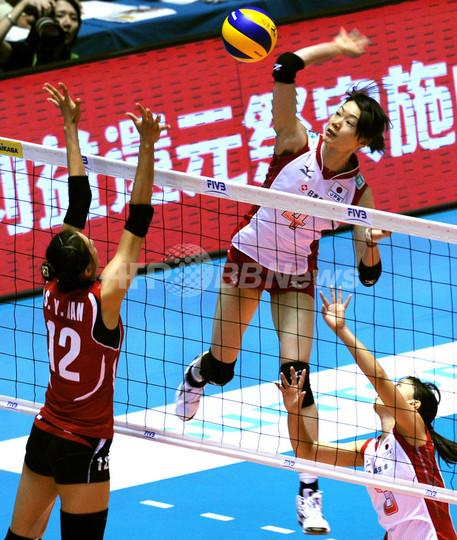 日本女子、韓国下し準決勝進出 世界バレー