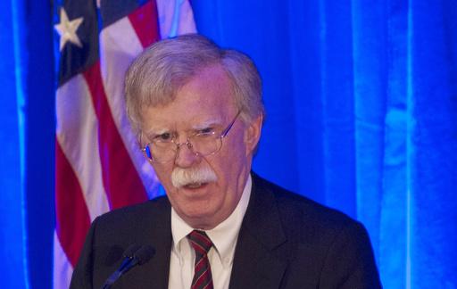 米兵など捜査ならICC判事らの逮捕・訴追も、ボルトン米大統領補佐官