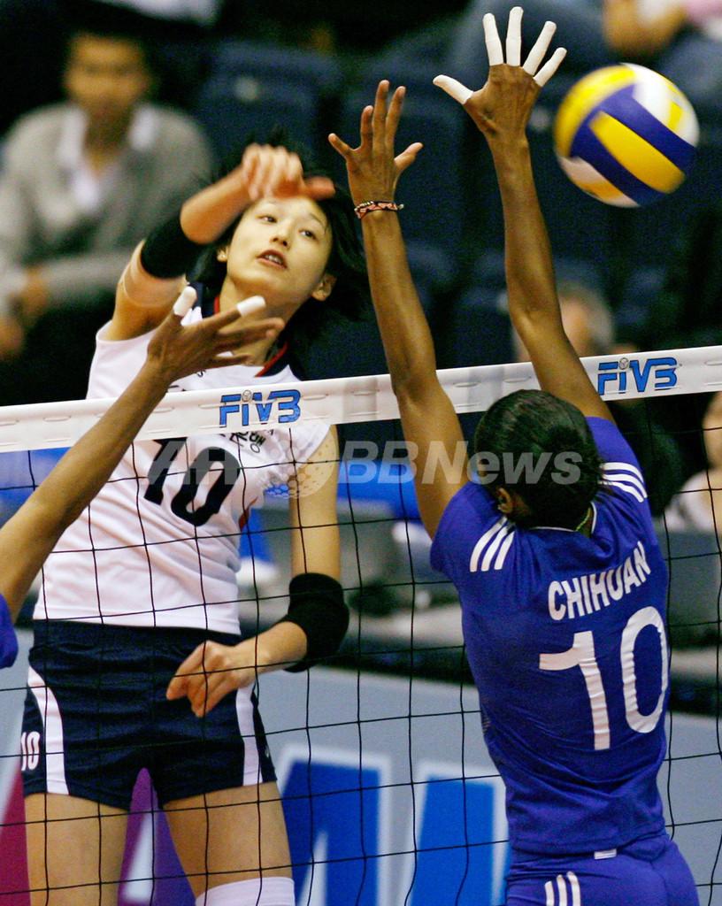 韓国 ペルーをストレートで破り大会3勝目