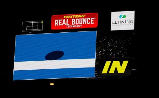 テニスのライン判定技術、独占状態に風穴? 新興テック企業の挑戦