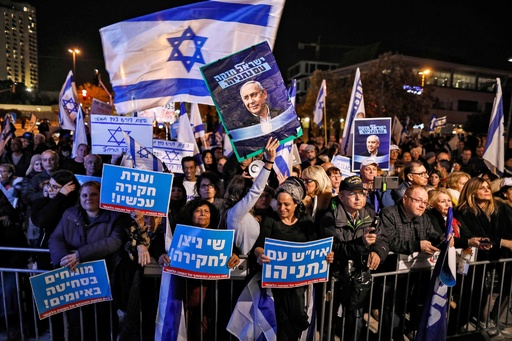 イスラエル国会解散、1年間で3度目の総選挙へ 来年3月